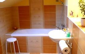 """druga łazienka dla gości w """"Domu Gospodarzy"""""""