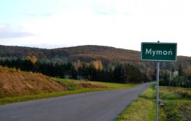 Droga wjazdowa do Mymonia